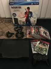 Sony Playstation 3 (PS3) Console Super Slim 250 GB with Games