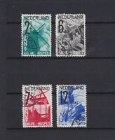 NETHERLANDS 1932, Sc#B54-B57, CV $41, Used