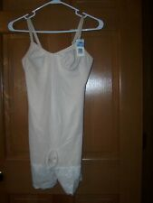 Womens Body slimmers shapewear 36B ivory #07347 NEW