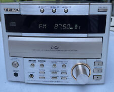 Vintage Teac CR-H130 Mini Receiver CD Player With Remote Please Read