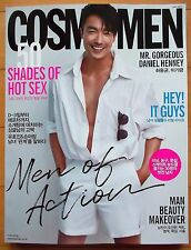 Daniel Henney/Cuttings 11P+Cover---Magazine Clippings/Cosmo Men Korea/May 2017