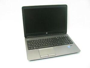 "HP ProBook 650 G1 15.6"" Laptop 2.6 GHz i5-4300M 4GB (Grade B No Battery, Webcam)"