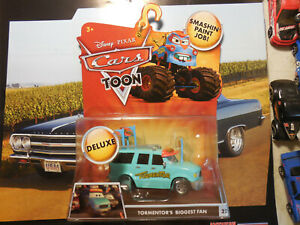 Disney Pixar Cars Toon Tormentor's Biggest Fan #22 Deluxe Mega Die Cast FREE SHP