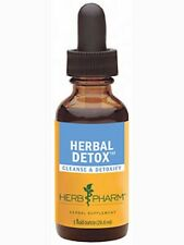 2 Bottles of Herb Pharm Herbal Detox Compound - 1 fl oz each