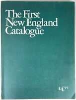 The First New England Catalogue Vintage 1973 1st Edition Illustrated VG Cond!