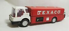 "Vintage Texaco Jet Fuel Truck Gas Tanker Ride On 1960s 24"" Pressed Steel Wen Mac"