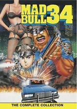 Mad Bull 34 . The Complete OVA Series Collection . Anime . DVD . NEU . OVP