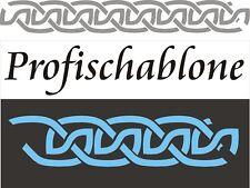 Tupfschablone, Wandschablone,  Stencils, Malerschablone, Schablone  - Mäander 5