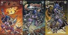 store variant + a/b Jirni 1 Aspen Comic 1st print 2013 pull edition Warp9 Fathom