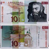 Slovénie  un billet NEUF de 10 Tolarjev de 1992  Pick11 SLOVENIA