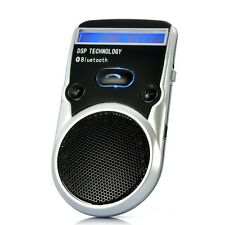 "Hands Free Bluetooth Car Kit ""Macaw"" - Solar Powered, Caller ID Display"