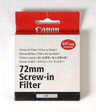 Canon 72mm UV Filter