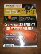 Ciel et espace N°473 Tognini Pierre céleste Météorite Galaxie du triangle