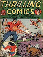 THRILLING COMICS GOLDEN AGE COLLECTION PDF ON DVD