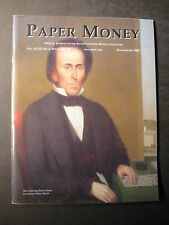 PAPER MONEY  Journal Society of Paper Money Collectors March/April 2008 magazine