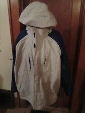 BONFIRE Mens Sz XL Winter Jacket Light Gray Blue with inner fleece Jacket - Look