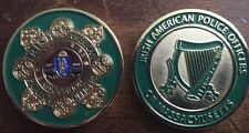 Irish American Police of Massachusetts Challenge Coin