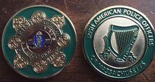 Irish American Police of Massachusetts Challenge Coin