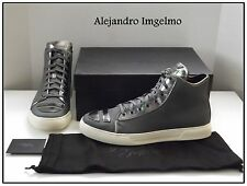 NIB Alejandro Ingelmo Bedford Grey High Top Sneakers! Stylish Shoes