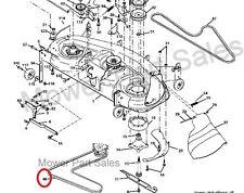Cutter Deck Belt Fits Husqvarna, Jonsered, Poulan, Craftsman AYP Mowers 174368