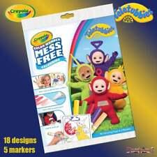 Crayola TELETUBBIES Color Wonder Mess Free Magic Livre de coloriage & Stylos Set