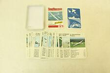 ESF-01224Kartenspiel Segelflugzeuge von ASS,  mit  Gebrauchsspuren