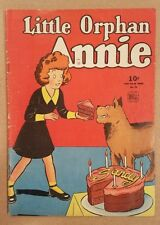 Little Orphan Annie #76 VG/FN Dell 1940
