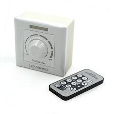 LED Dimmer 220V 200W Wall mounting IR Remote Control for LED Bulb Ceiling lamp