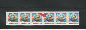 US ERROR Stamps: #2279a Earth Space. Imperf & var. PS6 #1111 PNC MNH $375.+