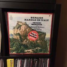 BERLIOZ Harold In Italy YEHUDI MENUHIN Colin Davis ANGEL LP Sealed SS