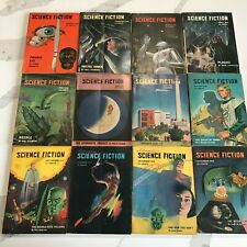 Astounding Science Fiction 1949 12 Issues Full Run Sci Fi Horror Pulp Book