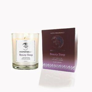 AVON Planet Spa Aromatherapy Beauty Sleep Glass Candle Lavender & Chamomile