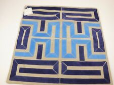 NWT $179 WILLIAMS SONOMA HOME Blue PINTO Suede 20x20 Pillow Cover