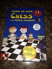 Learn To Play Chess With Fritz @ Chester- Pc Game- Mac OS X PC3
