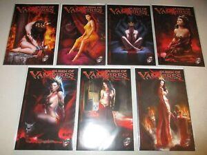 Queen of Vampires #1-7 (Complete 2016 ARH Comix  Series) Full Lot set run