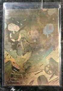 "VINTAGE SUPERHERO CARD ""Cable"" Hologram Marvel With Description In Sleeve"