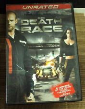 DEATH RACE DVD unrated sci-fi Jason Statham Paul W.S. Anderson