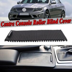 For Mercedes Benz C E Class W204 S204 Center Console Cover Slide Roller Blind