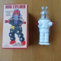 Moon explorer toy retro tin robot antique Vintage Rare Limited Tinplate Toys