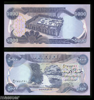 5000 New Iraqi Dinar - Crisp Uncirculated  -Best Deal    Only 15 Left