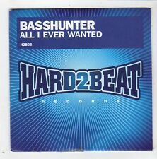 (FZ142) Basshunter, All I Ever Wanted - 2008 DJ CD