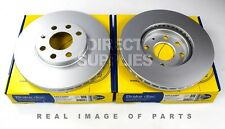 2X FRONT AXLE BRAKE DISCS FOR OPEL ASTRA G HATCHBACK/SALOON T98 COMLINE ADC1105V