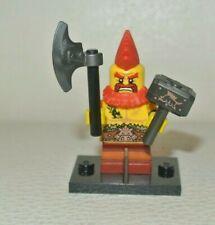 LEGO series 17 : Battle Dwarf  - figurine Minifig personnage -  71018 col295