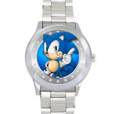 Sonic the Hedgehog Vitesse De Marche Montre En Acier Inoxydable Rétro Gaming personnage