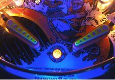 Whitewater White Water Pinball Ultra Violet Flipper Light Mod