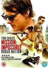 Mission Impossible Rogue Nation Tom Cruise Movie 1 Blu-ray Rated 12