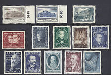 AUSTRIA 1950s MUSIC THEME (few sets most complete but not all) VF MLH