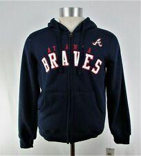 Atlanta Braves MLB G-III Sports Men's Blue Full-Zip Sweatshirt