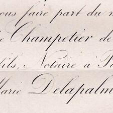 Louis Maurice Champetier De Ribes 1872 Marie Delapalme