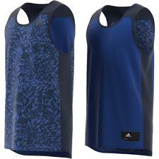 Adidas CF1119 Essentials Tanque Reversible Jersey Top Conavy (M)